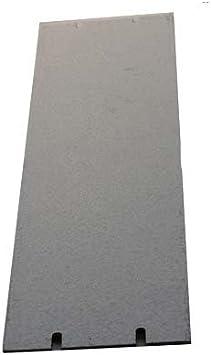 """Grey 5.25/"""" X 19/"""" Large Aluminium Rack Panel"""