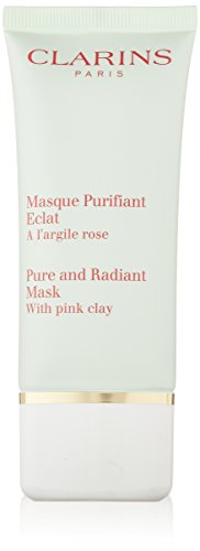 Clarins Pure & Radiant Mask With Pink Clay, 1.7-Ounce - Clarins Facial Mask