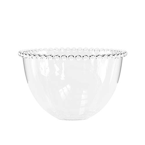 1pc Mixing Bowl, Salad Bowl, Glass Mixing Bowl 2L Large Medium Fruit Plate Storage Bowl (Large)