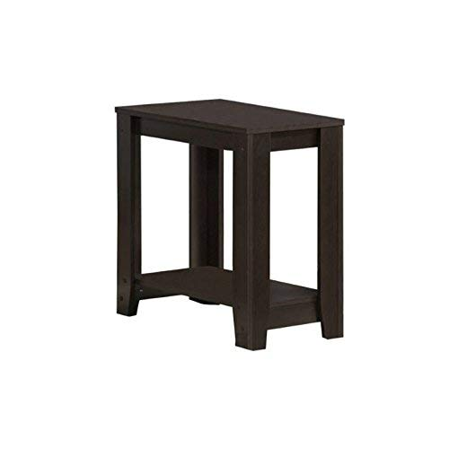 - Monarch Specialties I I 3119 Accent End Side Lamp Table with Shelf, 24