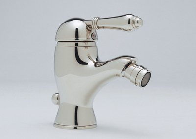 Rohl A3403LCAPC Ac55X-Pn A3403Lc Country Bath Bidet Faucet with Swarovski Crystal Lever Handle, Polished Chrome