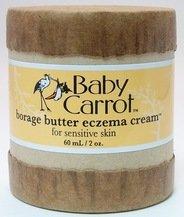 Bourrache beurre eczéma crème Carotte sauvage Herbals 2 oz Cream