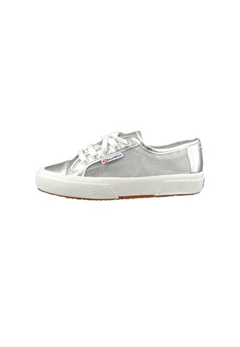 Silver Argent Superga 2750 Netw Adulte Mixte Baskets n0gnR8