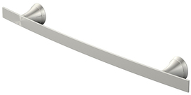 Shop Jacuzzi Lyndsay Brushed Nickel Single Towel Bar (Common: 24-in; Actual: 24-in) at Lowes.com