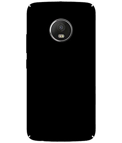 Johra 4 Cut All Sides Protection Sleek Ipaky Black Hard Case Back Cover For Motorola Moto C