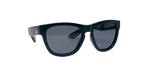 Minishades Polarized Classic Kids Sunglasses, Black Satin Frame/Polarized Grey - Baby Bans Ray Sunglasses