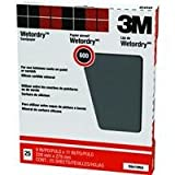 3M Pro-Pak Wetordry Sanding Sheets, 600A-Grit, 9-Inch by 11-Inch