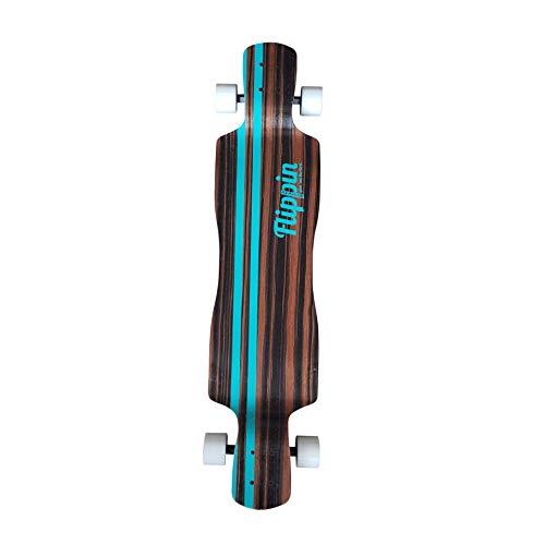 Flippin Board Co Signature Series V2 Drop Down Longboard Skateboard ()