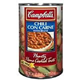 Campbells Chili Con Carne with Beans - 50 oz. can, 12 per case