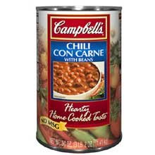 Campbells Chili Con Carne with Beans - 50 oz. can, 12 per case by Campbell's