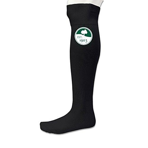 Men's Oakmont Country Club Est 1903 Football Sport Socks Black