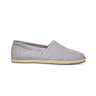 TOMS - Seasonal Classics (Grey Linen) Men's Slip On Shoes (13) (B013EUOXV4) | Amazon price tracker / tracking, Amazon price history charts, Amazon price watches, Amazon price drop alerts
