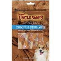Uncle Sams Chicken Drummies Dog Treat – 3.8 oz., My Pet Supplies