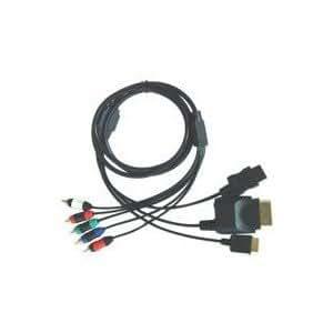 4 en 1 cable por componentes para PS2/PS3/Wii/XBOX360