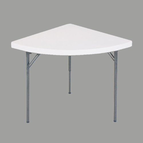 (Correll Food Service Table - Quarter Round Wedge Table - 30
