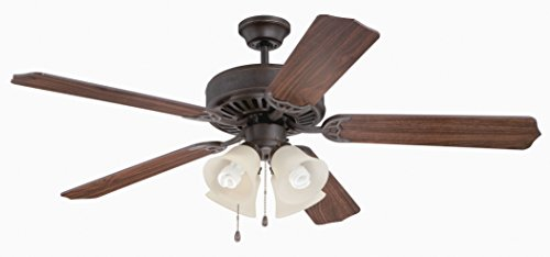 Craftmade K11109 Ceiling Fan Motor with Blades Included, 52