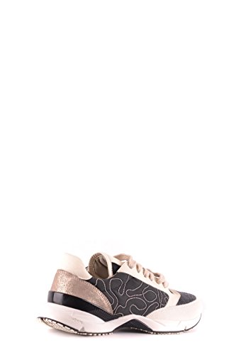 Nero Cucinelli MCBI053065O Donna Pelle Sneakers Bianco Brunello pgwRqYdY