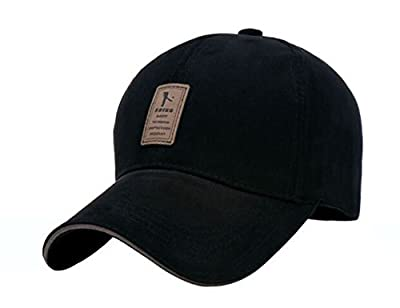 Hat Solid Color Caps Adjustable Size Adult ERIC YIAN