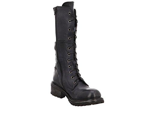 Moma 87703-CG Damen Stiefel in Mittel Grau