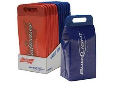 Koolit Budweiser/Bud Light Collapsible Cooler Bag Qty: 1 (Red)