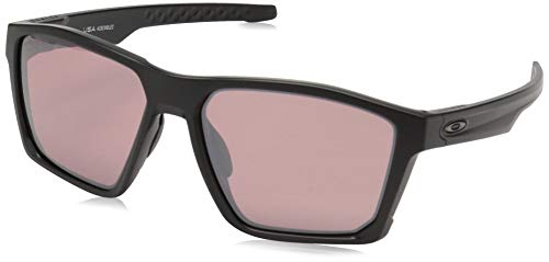 Oakley Men's OO9397 Targetline Square Sunglasses, Matte Black/Prizm Dark Golf, 58 mm