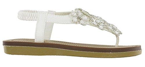 Savannah - Zapatos de tacón  mujer blanco