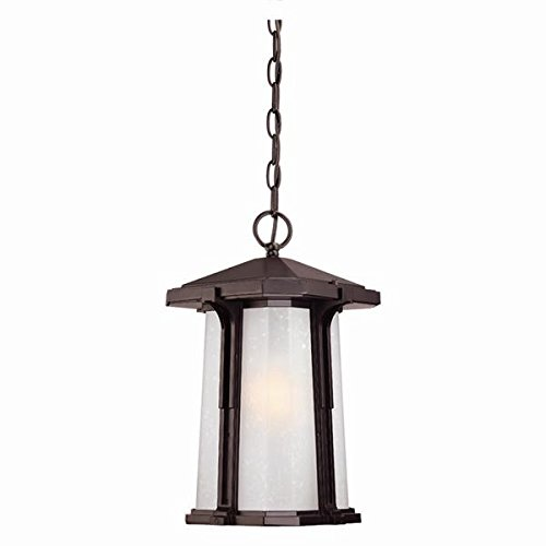 Acclaim 3456ABZ Illuma Collection 1-Light Outdoor Light Fixture Hanging Lantern, Architectural Bronze by Acclaim
