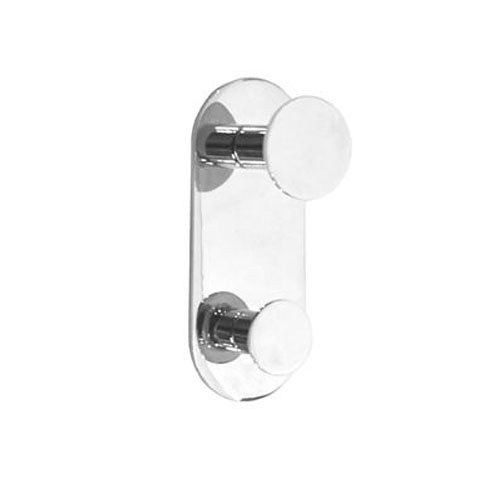 Smedbo Double Towel (Smedbo SME_YK356 Double Towel Hook, Polished Chrome)