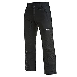 Arctix Full Side Zip Insulated Snow Pants, Medium, Black