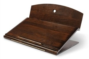 Ergo Desk - 401W - Designer Series Portable Reading and Lap Writing Desk - Walnut - Large by Ergo Desk (Image #2)