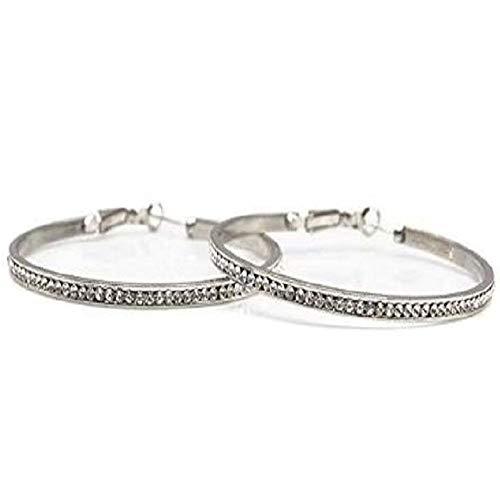 i&D Jewelry Women Bridal Wedding Crystal Rhinestone Hoop Earrings Cute Huggie Earrings Clear Cubic Zirconia Earings(White) (Earrings Mini Starfish)