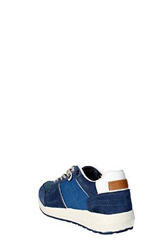Wrangler Scarpe Sneakers Uomo in camoscio e Tela blu WM151160 IrBE9