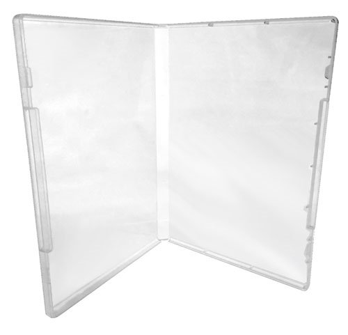 (200) CheckOutStore Plastic Storage Cases for Rubber Stamps (Clear / Spine: 14 mm / No Tabs) by CheckOutStore