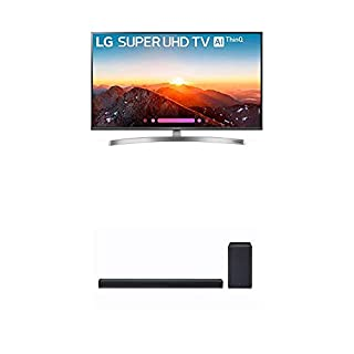 LG Electronics 49SK8000PUA 49-Inch 4K Ultra HD Smart LED TV (2018 Model) Bundle with LG SK8Y 2.1 ch High Res Audio Sound Bar with Dolby Atmos (2018) (B07KRF6BML) | Amazon price tracker / tracking, Amazon price history charts, Amazon price watches, Amazon price drop alerts