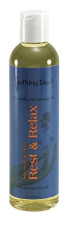 Soothing Touch W67366RR Bath and Body Oil Rest Relax, 8-Ounce