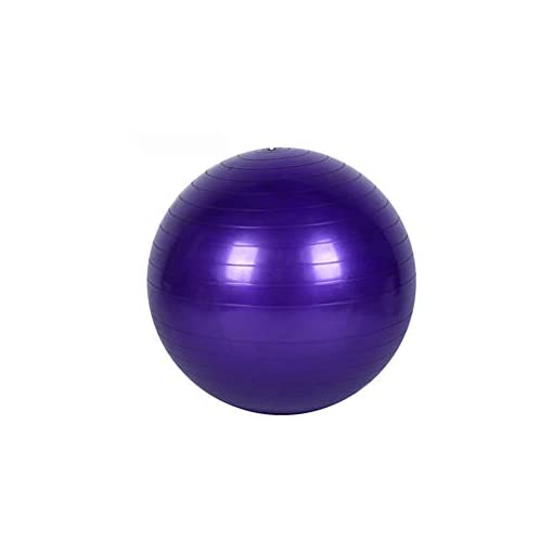 Yoga Fitness Ballon Exercice d'entraînement Équilibre Cours de Yoga Balle de Gymnastique de Base Gymball PVC 45cm / 17…