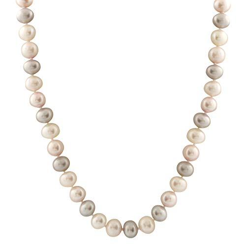 Handpicked AA Quality Freshwater Cultured Pastels Cream Pink Lavender Pearl Strand 18