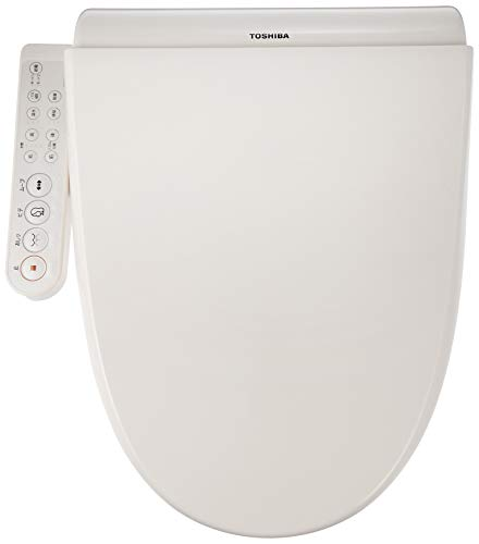 Toshiba Warm Water Washing Toilet seat Clean wash Pastel Ivory SCS-T160 [Auto Deodorization]