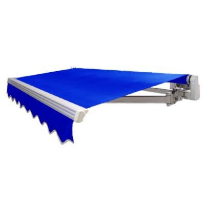 AWNTECH 16 ft. Maui Motorized Retractable Awning in Bright Blue