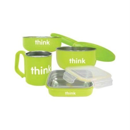 Thinkbaby Feeding Set - BPA Free - Green - 1236850