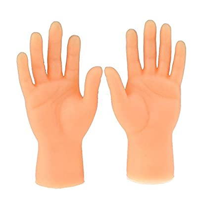 Clothful Novelty Funny Funny Set of Two Finger Hand Finger Puppets: Home & Kitchen