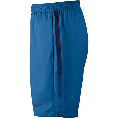 Nike Men's Court Dry 9'' Short (Military Blue/Blue Void, X-Small) by Nike (Image #2)