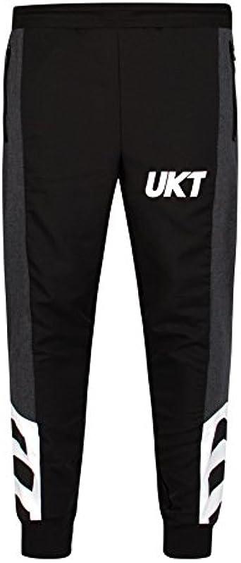 Unkut Pantalon Jail Noir: Amazon.fr: Vêtements