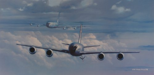 KC 135 50th Anniversary limited lithograph product image