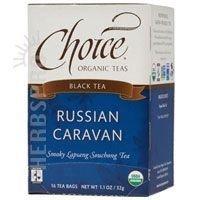 Choice Organic Teas Russian Caravan, 16 Bag (Russian Caravan Black Tea)