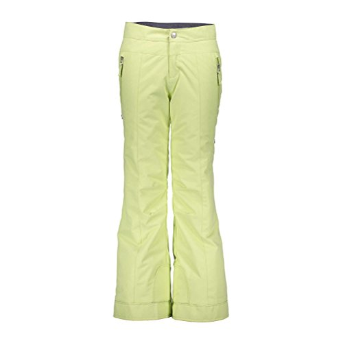 Obermeyer Brooke Girls Ski Pants - Medium/Citron by Obermeyer