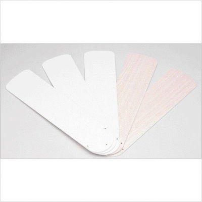 Westinghouse 7741600 52'' White & Bleached Oak Reversible Fan Blades 5 Count