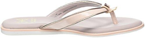 Butterfly Twists Bondi, Bailarinas con Punta Abierta Para Mujer Pink (Soft Pink/Rose Gold)