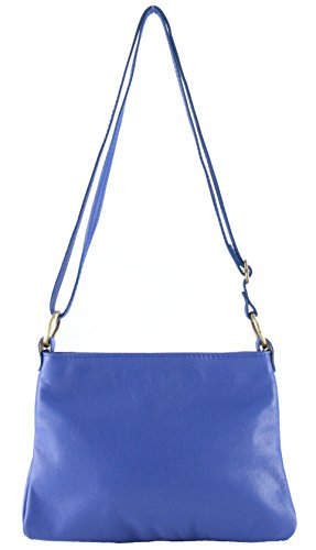 fabiola Bandolera Con Histoiredaccessoires De Cuero Bolso Mujer Azulazul Sa002028gr 5vSq0