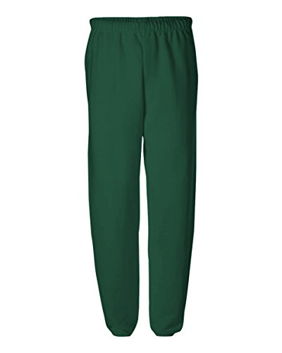 Jerzees 8 oz., 50/50 NuBlend Fleece Sweatpants (973)- ASH,S ()